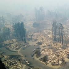 cul de sac leveled by wildfire in northern california natureismetal