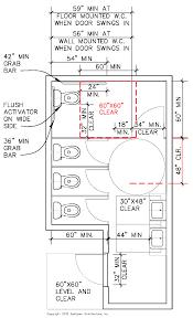 ada bathroom floor plan sanitary facilities california ada compliance