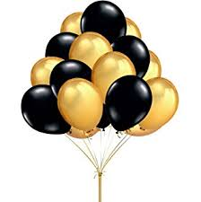 black balloons party decorations balloons 100 pack 12 ultra