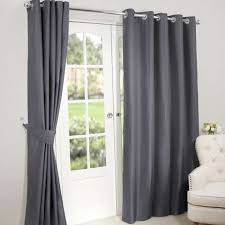 pictures of curtains nova charcoal blackout eyelet curtains dunelm
