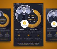 professional company services flyer free psd creativepsddownload