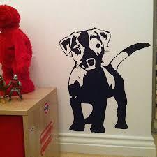love my dog wall sticker by nutmeg notonthehighstreet com