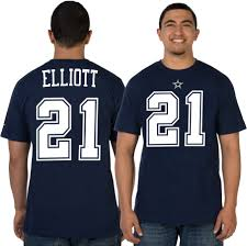 dallas cowboys thanksgiving jersey nike men u0027s dallas cowboys ezekiel elliott 21 pride navy t shirt