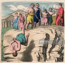 punishment of traitors in ancient rome pictures getty images