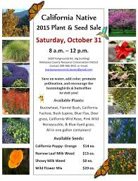 california native plant ground cover plants mariposa county rcd hosts 45th annual california native plant