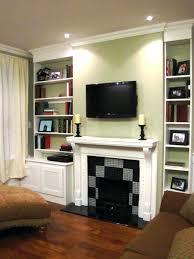 shelves fireplace bookshelf design ideas home shelf unique shelf