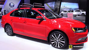 red volkswagen jetta 2015 volkswagen jetta tdi sel exterior and interior walkaround