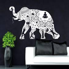 Om Wall Decal Mandala Vinyl by Yoga Mandala Tribal Buddha Ganesh Wall Art Sticker Decal Lo Mas