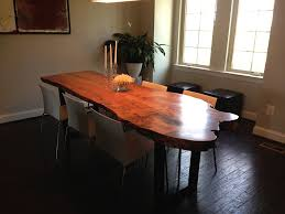 Living Edge Dining Table Live Edge Dining Table Natural Shape Build Live Edge Dining