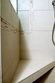 bathroom tile trim ideas tile trim ideas bathroom with accent tile bench master