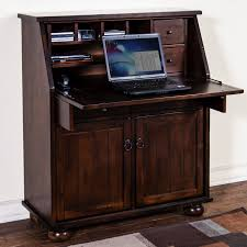 Modern Computer Armoire by Vintage Drop Front Writing Desk Best Home Furniture Decoration