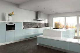 blue kitchens modern blue kitchen cabinets with blue kitchens beautiful image 2