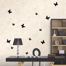 black and white butterfly wall stickers white butterfly wall wall sticky wonderful black red white art design decal wall sticker home decoration
