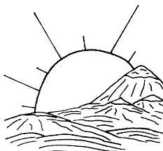 coloring pages for landscapes landscape coloring pages outdoor goods