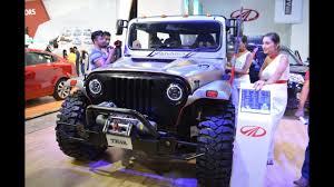 mahindra jeep thar 2017 mahindra thar daybreak 2017 nepal auto show youtube