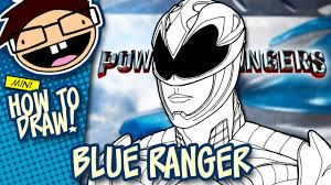 how to draw blue ranger power rangers 2017 movie narrated