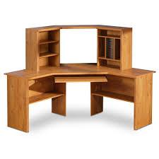 Large Wooden Desk Corner Desk With Shelves 44 Cool Ideas For Brown Polished Wooden