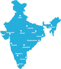 Hyderabad India Map elico branches