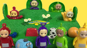 teletubbies magic hill pop kids toy playset lala dipsy tinky