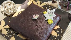 a dense rich moist u0026 fluffy eggless chocolate cake easy u0026 quick