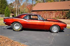 chevy camaro drag car 1967 chevrolet camaro z 28 custom drag car 161868