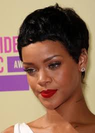 really cute pixie cuts for afro hair caribbean singer rihanna wears her hair in a cute cropped pixie