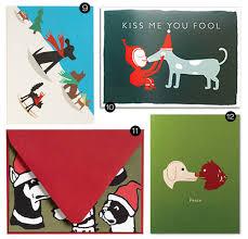 christmas cards themed 16 modern dog themed greeting cards dog milk