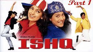 film comedy on youtube ishq part 1 aamir khan ajay devgan kajol juhi chawla