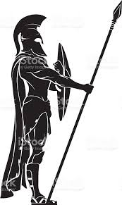 spartan warrior guard stock vector art 537469844 istock