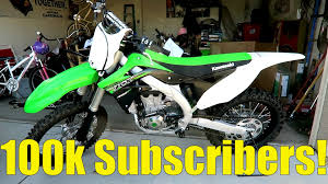 motocross bike images new dirt bike for dad 100 000 subscribers youtube