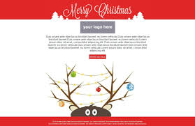 free christmas card templates for email business template