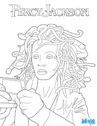 medusa coloring pages myth of perseus and medusa coloring pages