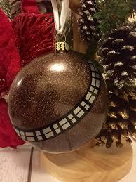 wars ornament chewbacca bauble chewie