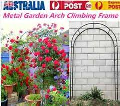 wedding arch ebay au garden wedding arch garden climbing frame arches iron outdoor