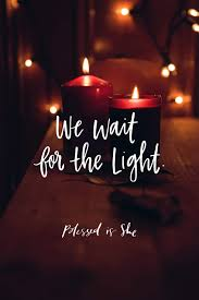 waiting for the light waiting for the light blessed is she