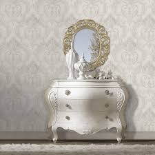 debona perla damask wallpaper silver 9092 wallpaper from i
