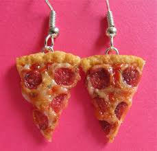 food earrings new pepperoni pizza earrings by littlesweetdreams on deviantart