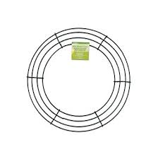 floracraft simplestyle 12 inch wire wreath green 13