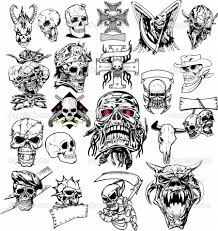 new school tattoo drawings black and white many skull tattoo sketch design tattoomagz