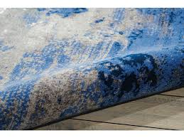 Blue Grey Area Rug Floor Coverings Nourison Twilight Blue Grey Area Rug Twi22 Blue
