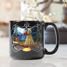famous coffee mugs polar express the u2013 ceramic mug 20 oz the thomas kinkade company