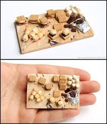 petites cuisines am ag s s mores prep board by bon appeteats deviantart com miniature food