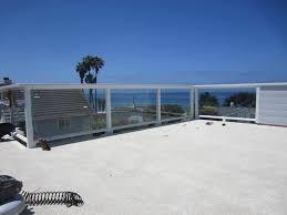 outdoor glass balcony railing u2014 railing stairs and kitchen design