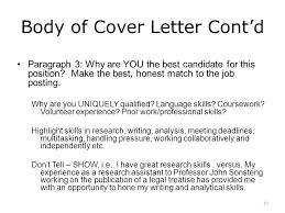 cover letter writing workshop ppt video online download