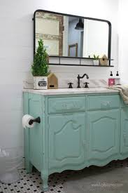 bathroom vanity makeover ideas vintage dresser to bathroom vanity lolly