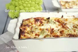 comment cuisiner le chou romanesco cuisiner le chou romanesco frais quiche sans p te au chou romanesco