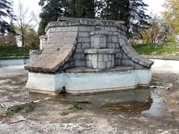 olcott park electric fountain and rock garden state historic