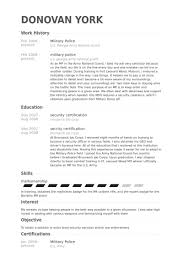 military police resume samples visualcv resume samples database