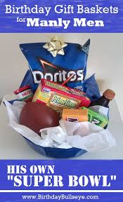 manly gift baskets diy birthday gift basket for manly men