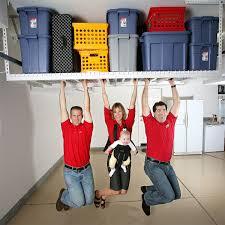 two 4x8 racks w free organizer overhead garage storage
